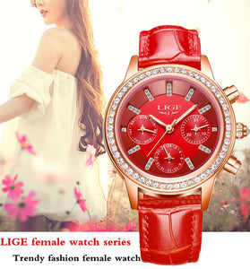 Women's Luxury Brand Casual Watch - Shiny jewels store