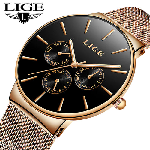 Fashion Slim Business Mens Watches - Shiny jewels store