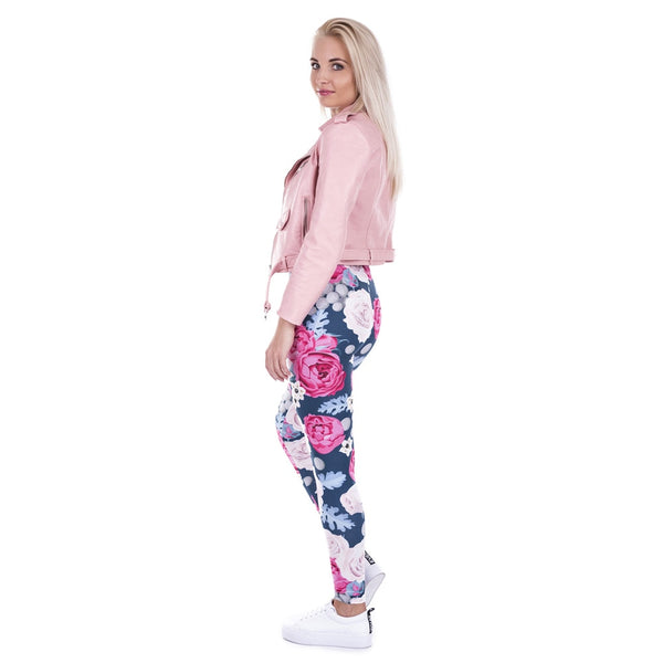 Beautiful Floral Leggins for yoga fitness
