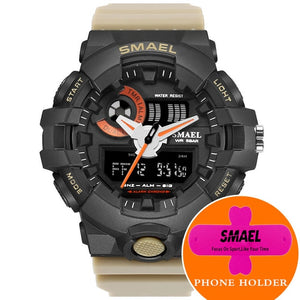 Red Sports Fashion Men Watches - Shiny jewels store
