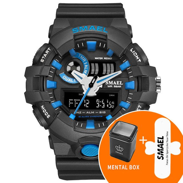 Red Sports Fashion Men Watches
