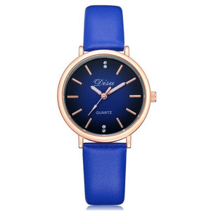 Women's Fashion Watch Blue Band