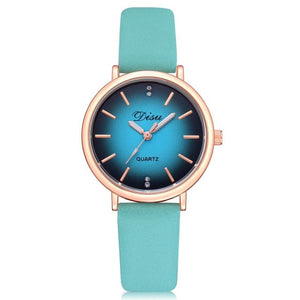 Women's Fashion Watch Turquoise Band