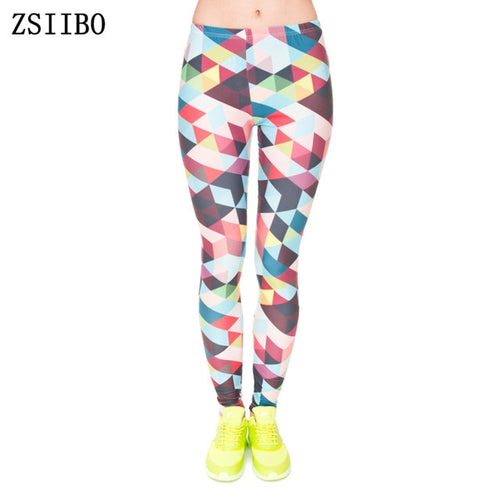 Beautiful Multicolor Leggins for yoga fitness - Shiny jewels store