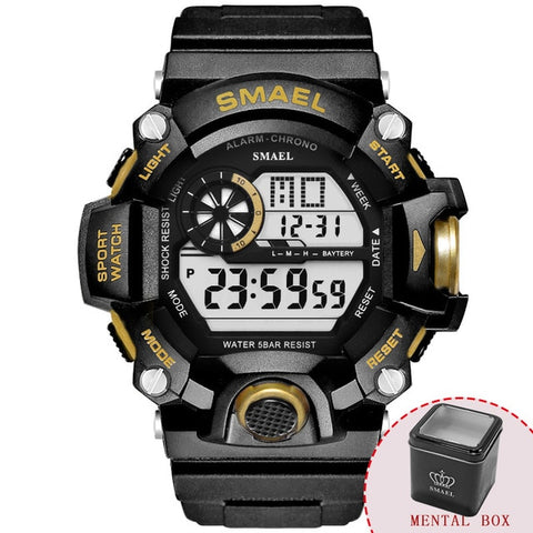 Sport Quartz Digital Watch