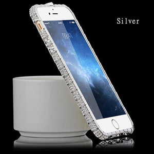 Luxury Bling Diamond Case Bumper For iPhone