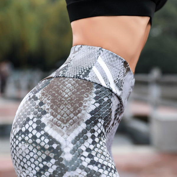 Amazing Fashion Snake Skin Printed Leggings
