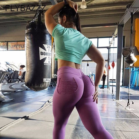 Big Butt Seamless Leggings High Waist