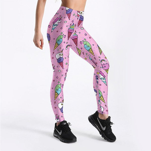 Hot Colorful Trendy Sports Leggins