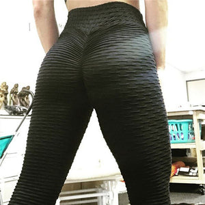 Black Sexy Fitness Push-Up Leggings