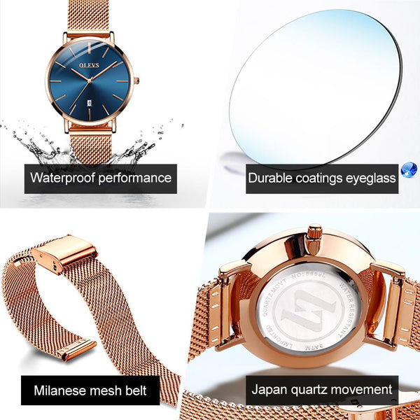 Ultra thin Luxury Watch