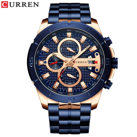 Swiss Designer Luxury Ambassador Men's Watch