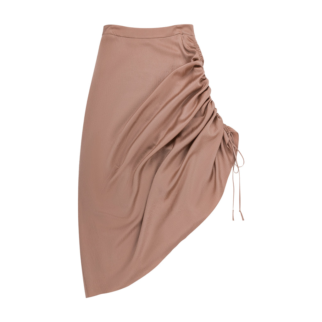 HAMMER SATIN TWOWAYS SKIRT - 2s-twoways
