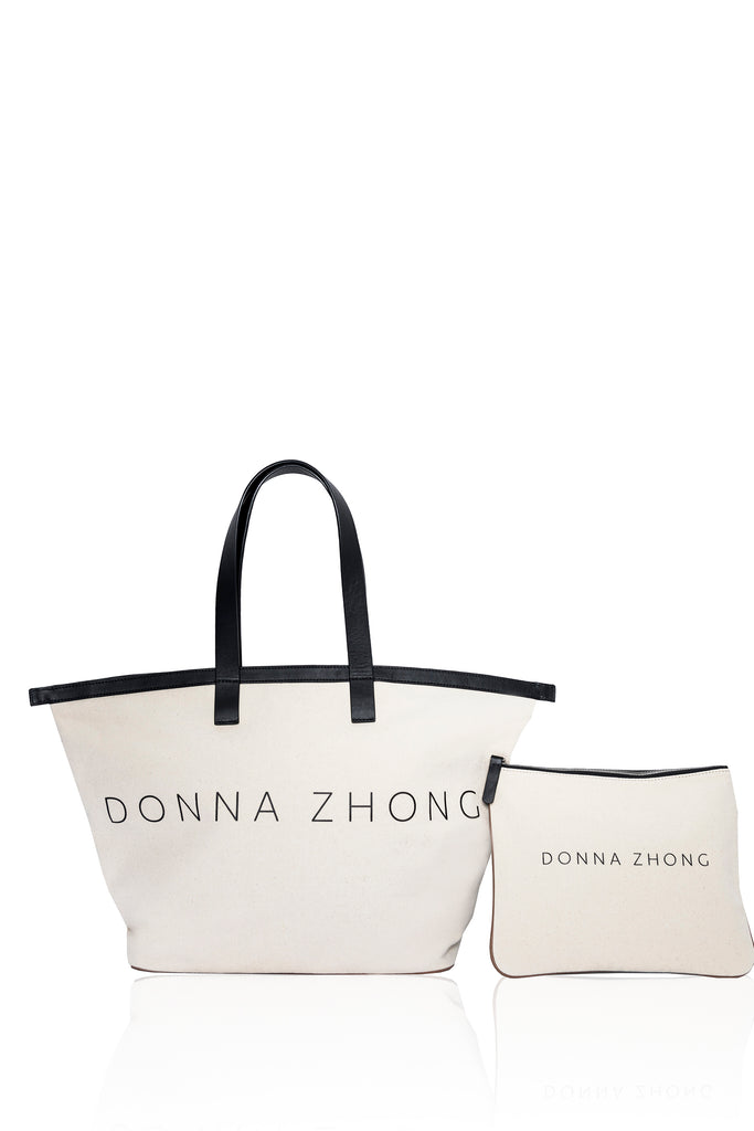 Oversized Canvas Tote Bag - 2s-twoways