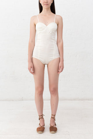 SLIM FIT SHIRTING BODYSUIT - 2s-twoways