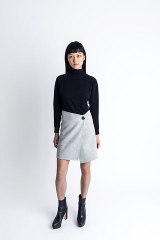 Double Face Skirt - 2s-twoways