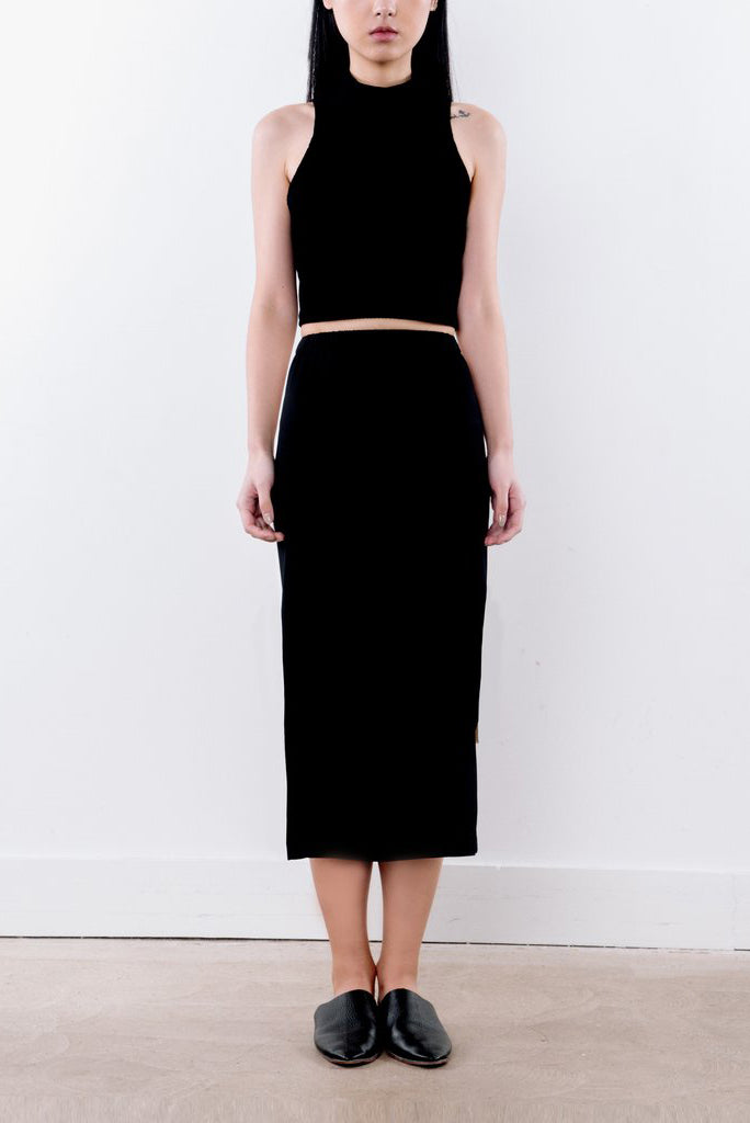 Two-tone Skirt - 2s-twoways