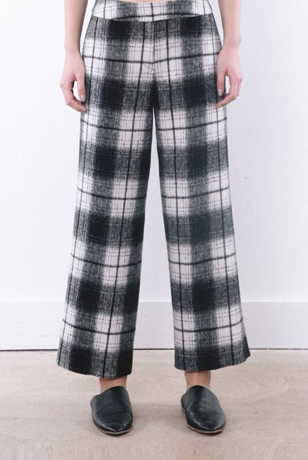 Wool Checker Pant - 2s-twoways