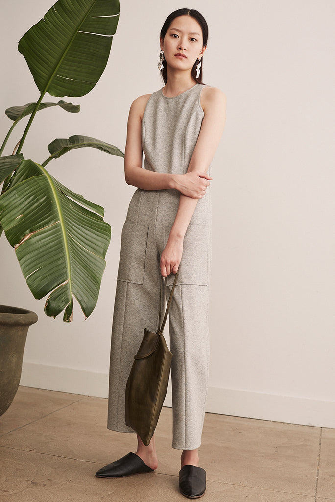Double Face Jumpsuit - 2s-twoways