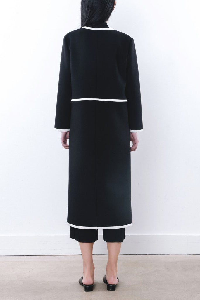 Double Face Wool Coat - 2s-twoways