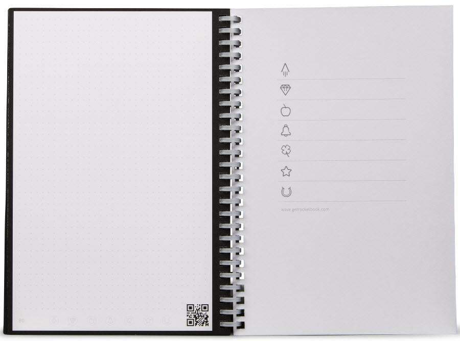 Notebook réutilisable digital