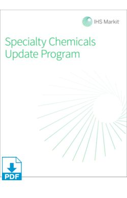 SCUP: Overview of the Specialty Chemicals Industry Report