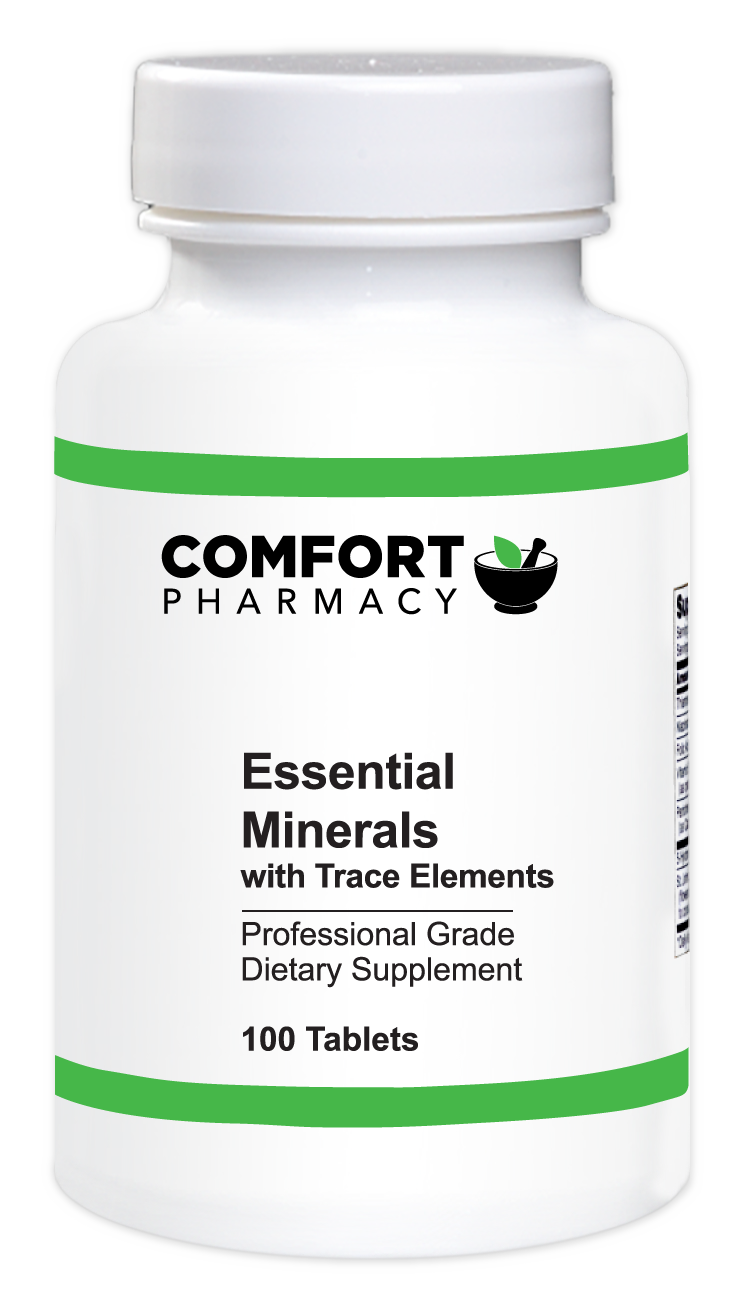Essential Minerals with Trace Elements