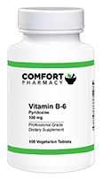 Vitamin B-6 Pyridoxine 100 mg
