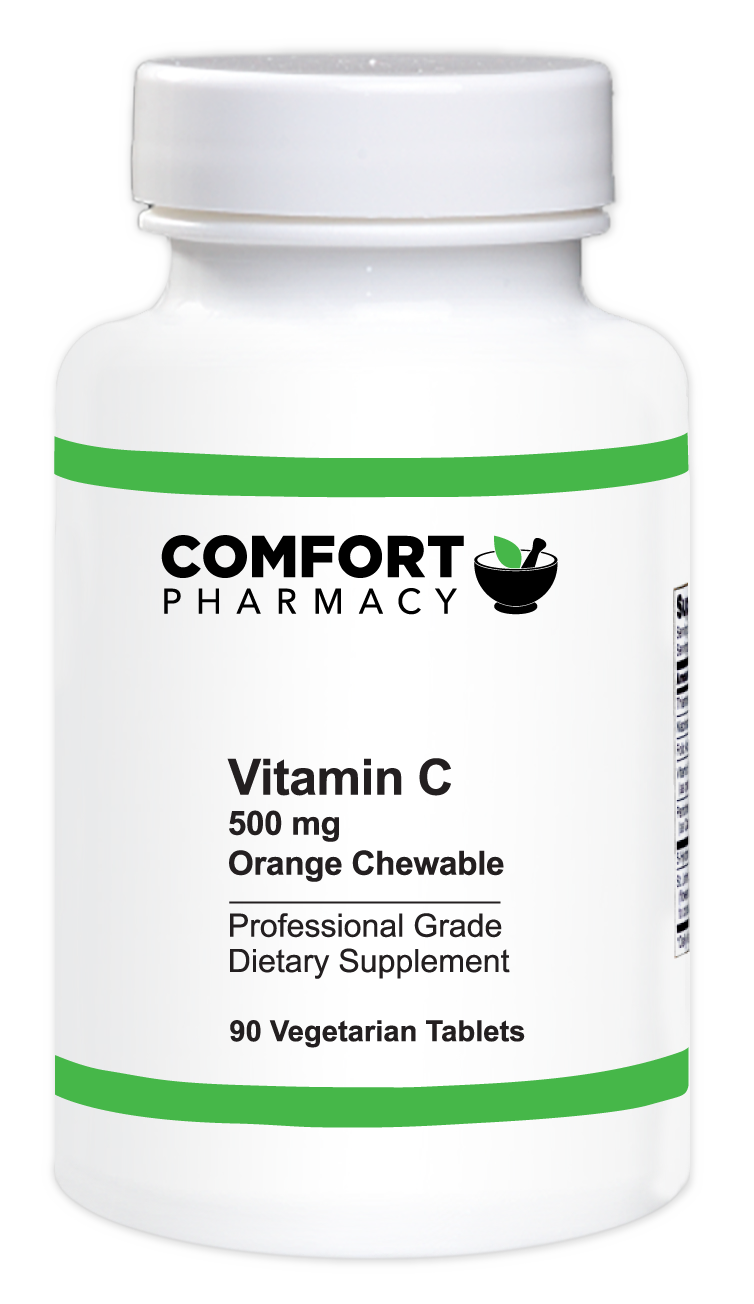 Vitamin C 500 mg Orange Chewable