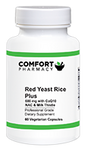 Red Yeast Rice Plus 600mg with CoQ10, NAC & Milk Thistle