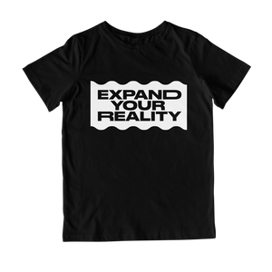EXPAND YOUR REALITY BLACK TEE