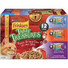 Exp 10/22/2018 Any Friskies Twelve(12)5.5 oz Cans or One(1) 12ct Variety Pack Wet Cat Food $1 on 1