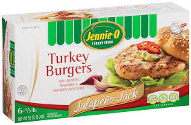 Exp 08/20/2018 Any Jennie-O Frozen Turkey burger $ 1 on 1