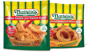 Exp 04/22/2018 Any Nathan's Frozen Jumbo Crinkle Cut Fries or Thick Sliced Battered Onion Rings $.75 on 1