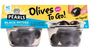 Exp 10/05/2018  Any Pearls Olives to Go $1 on 1