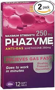 Exp 11/30/2018 Any Phazyme Anti-Gas Softgels $2 on1