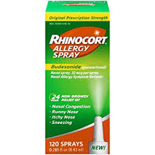 Exp 08/18/2018 Any Rhinocort Allergy Spray Product $10 on 1
