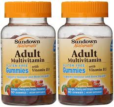 Exp 09/30/2018  Any Sundown Naturals Adult Gummies $2 on 1