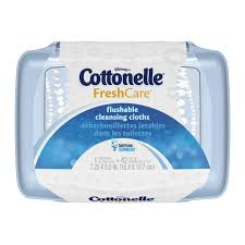 Exp 02/18/2018 Any Cottonelle Flushable Cleasnsing Cloths $1 on1