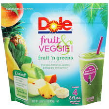 Exp 07/22/2018 Any Dole Frozen Fruit Bags $1 on 2 (32 oz or Larger)
