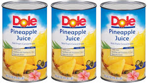 Exp 10/31/2018 Any Dole Canned Juice $.75 on 1