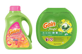 Exp 01/27/2018 Any Gain Powder or Liquid Detergent $2 on 1