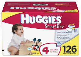 Exp 08/18/2018 Any Huggies Little Snugglers or Little Movers $2 on 1