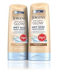 Exp 04/01/2018 Any Jergens Natural Glow Wet Skin Moisturizer $2 on 1