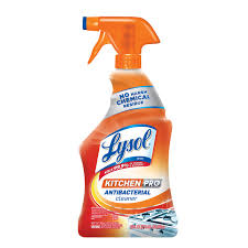 Exp 04/10/2018 Any Lysol Kitchen Pro Antibacterial Cleaner or Lysol Kitchen Pro Antibacterial Wipes $.50 on 1