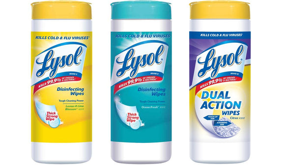 Exp 02/20/2018 Any Lysol Disinfecting Wipe$.50 on 1