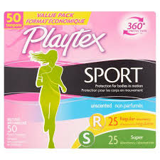 Exp 02/18/2018 Any Playtex Gentle Glide or Sport Tampons or Playtex Sport Pads or Liners or Combo Packs  $1 on 1