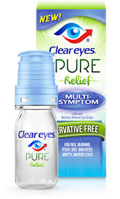 Exp 12/15/17 Any Preservative Free Clear Eyes Pure Relief Product $5 on 1