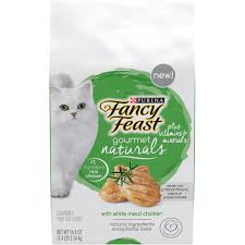 Exp 11/30/2018 Any Purina Fancy Feast Gourmet Naturals with Vitamins(3LB)Bags $2 on 1