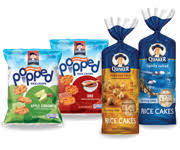 Exp 04/29/2018 Any Quaker Rice Cakes or Quaker Rice Crisps $1 on 3